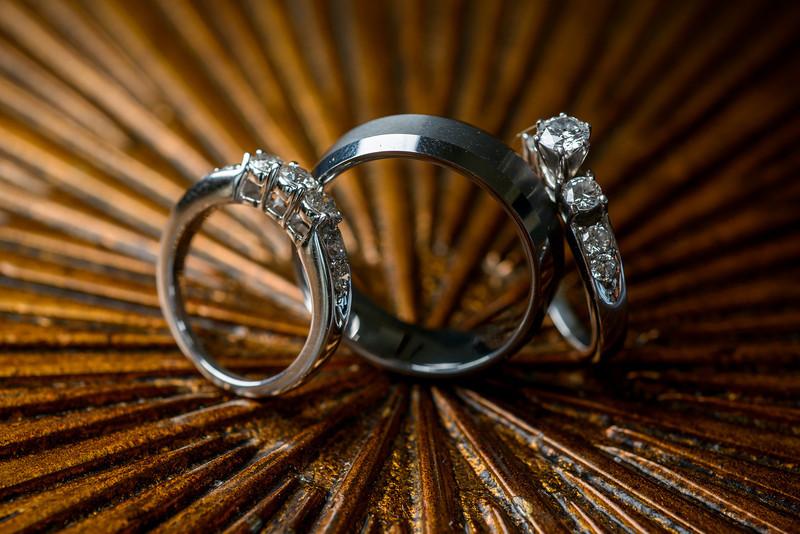 Details: Rings, Cake, Dress, Flowers, Venue, Etc.