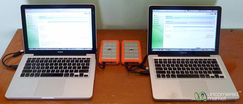 CrashPlan Seed Drive Backup
