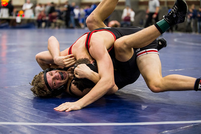 Wrestling 5A Divisional Qualifiers 2017