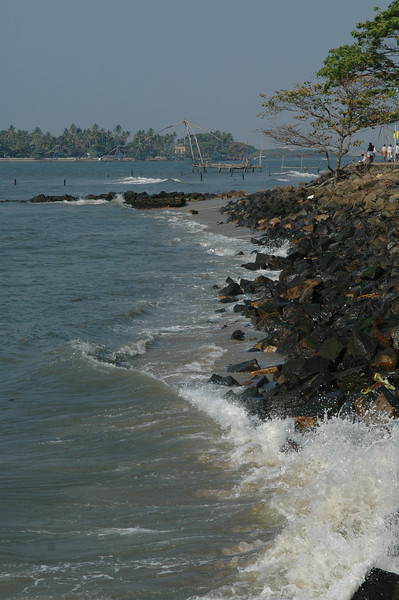 Shoreline at Fort Cochin