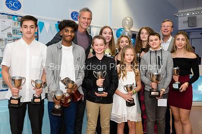 South Croydon Swimming Club 10th Anniversary Awards