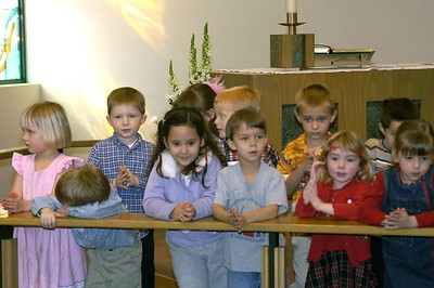 Preschool Sunday at Tanque Verde Lutheran -- February 13, 2005