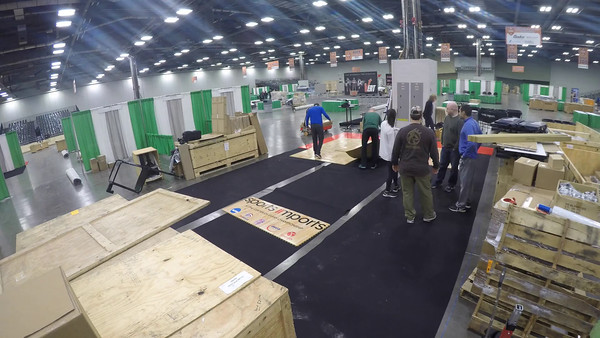 2016 AVCA Convention Booth Setup