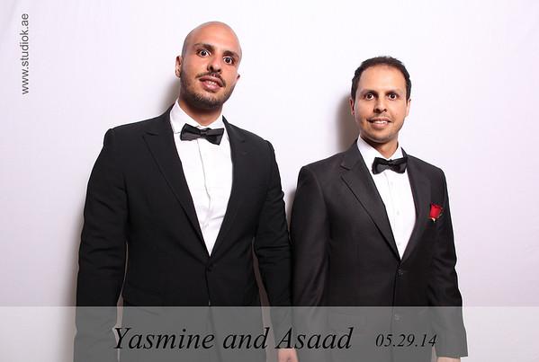 140529 Yasmine and Asaad