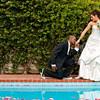 Backyard wedding pictures