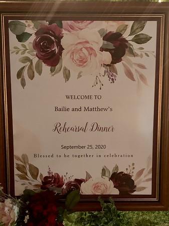 2020 09 25 Matthew Bailey Wedding