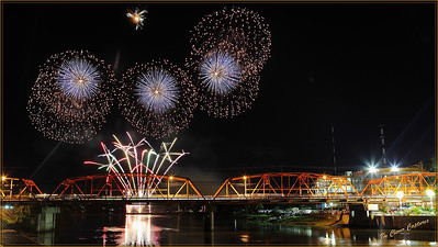 CdO Fiesta Fireworks 2013