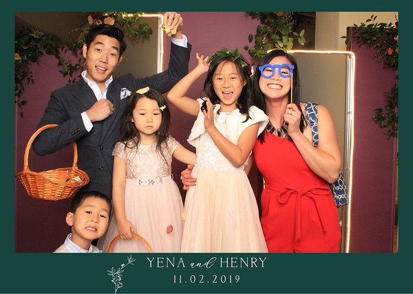 Yena & Henry Wedding Prints