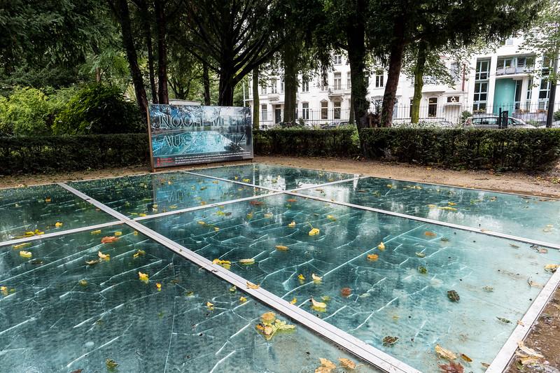 """Auschwitz Monument: """"Broken Mirrors"""""""