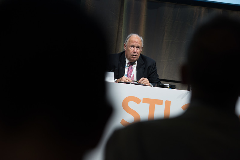 22nd International AIDS Conference (AIDS 2018) Amsterdam, Netherlands   Copyright: Marcus Rose/IAS  Photo shows: STI 2018. Edward Hook.