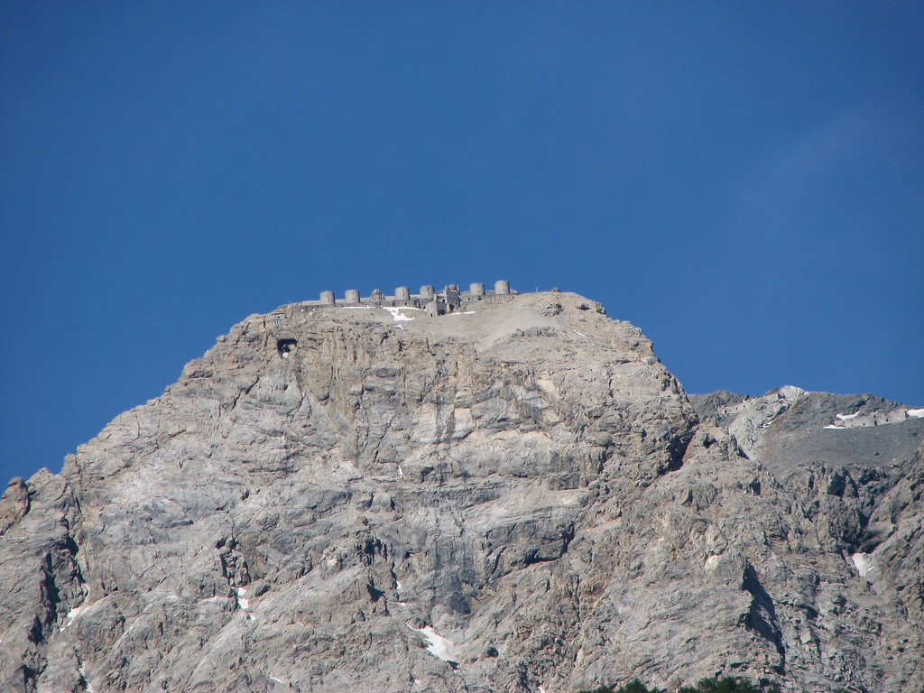 Monte Chaberton 3050 m hoog