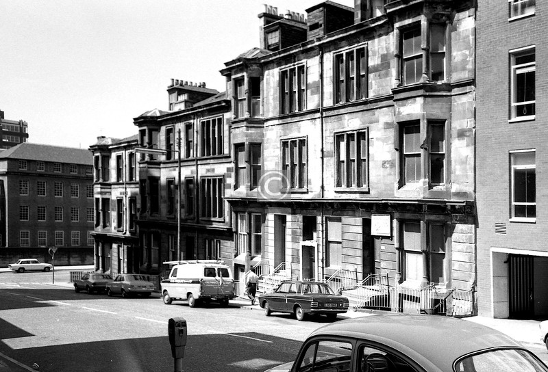 West George St,  north side at Holland St. Glass boxes now.  