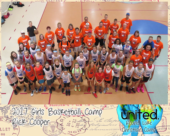 2017 Girls Basketball Camp