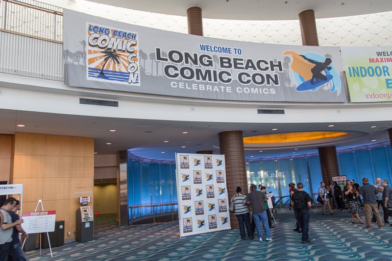 2012 Long Beach Comic Con - Exhibit Floor
