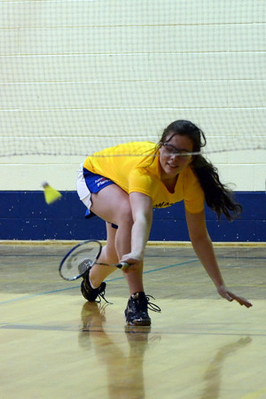 SMS Senior Badminton GHAC Tournament - April 18, 2013