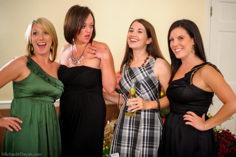 Ellen, Fran, Shawna, Lacey