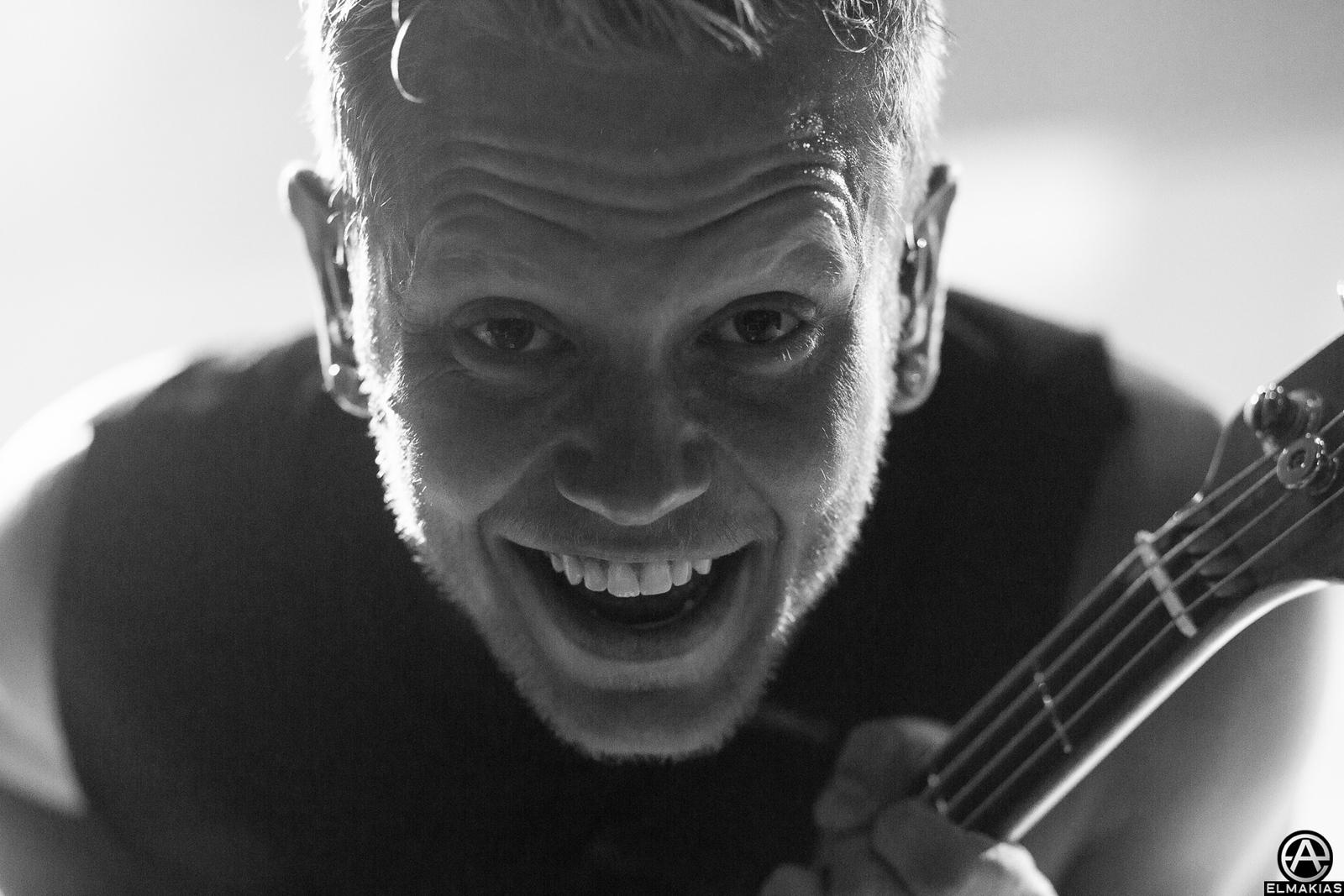 Josh Woodard up close  - Parks and Devastation Tour by Adam Elmakias