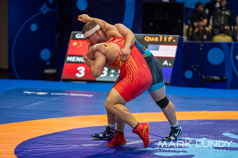 Champ. Round 1: Lingzhe Meng (China) over Adam Jacob Coon (United States)  •  Dec 3-1 - 2019 World Championships