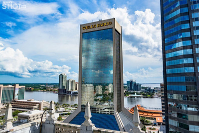 Jerry Shot Me - Downtown Jacksonville Aerial Photography