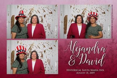 Alejandra and David -Photo booth