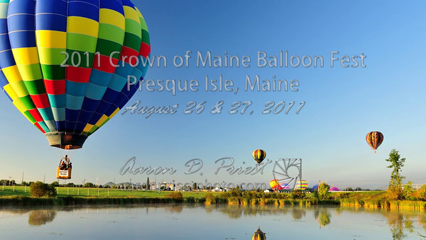 2011 Crown of Maine Balloon Festival