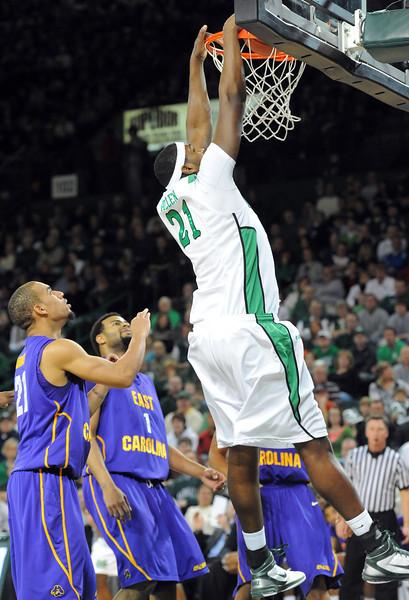 Marshall Basketball v. ECU - Jan. 2011
