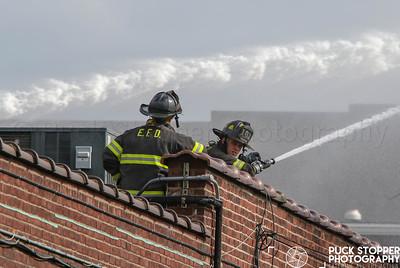 4 Alarm Building Fire - 153 Main St, Hackensack, NJ - 10/24/18