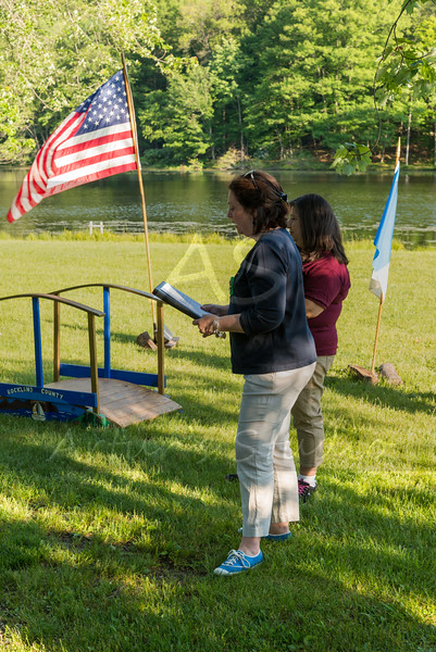 2015 Girl Scouts Bridging ceremony