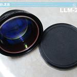 SKU: LLM-200, Focus Lens for 10.64um Wavelength Laser with 200x200mm Working Fields, 330mm Focus Length and 70um Focus Diameter for LabelMark Fiber Laser Marking Machine