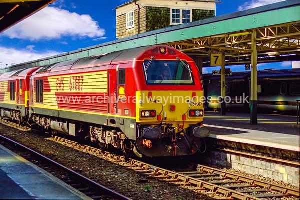 Class 67 Diesel Locomotives