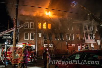Carbon County - Lansford Borough - Building Fire - 03/12/2020
