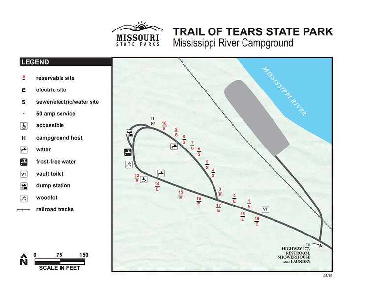 Trail of Tears State Park (Mississippi River Campground)