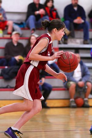 5th Grade Girls • St. Vincent vs St. Ambrose 2-23-2013