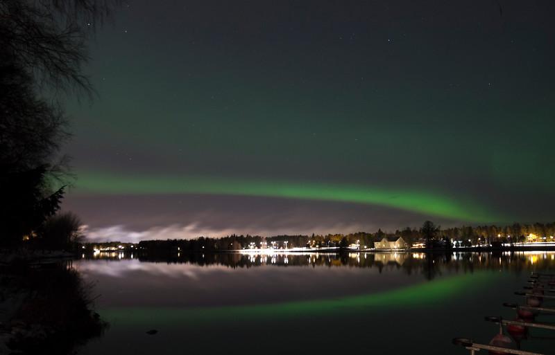 Arc over Oulujoki