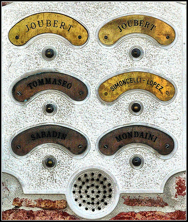 Venice - Doorbells and push buttons