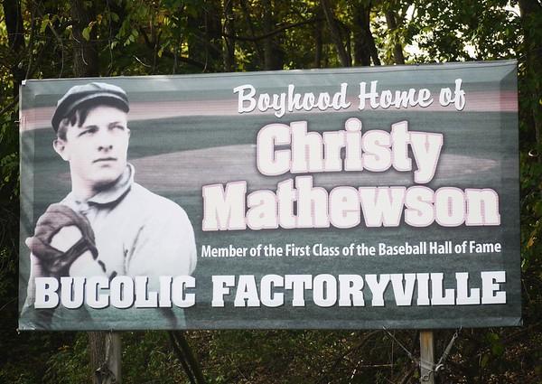Christy Mathewson Days 2015