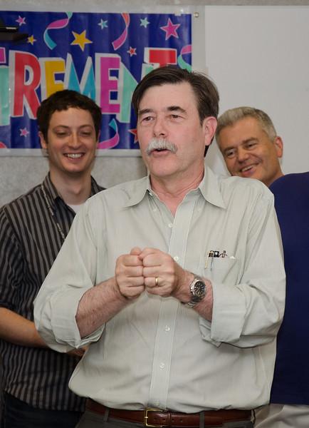 Chuck Bowers speaks -- Bruce Woodgate retirement party, NASA/GSFC, June 2013