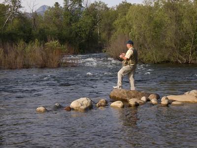 Fisherman at Three Rivers