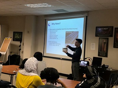 RSTEM/NEWT Outreach Report: Nano-In-Schools