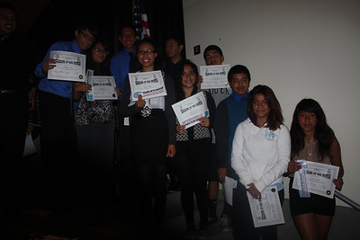 Student of the Month Assembly 10.9.2012