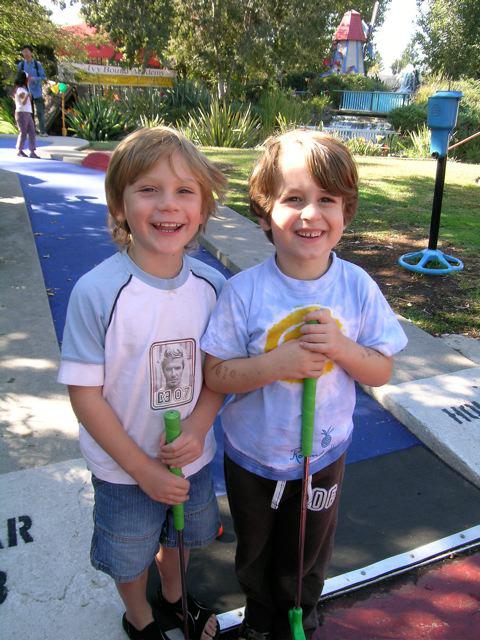 mini golf 2006
