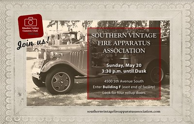 Southern Vintage Fire Apparatus Assoc 5-20-18