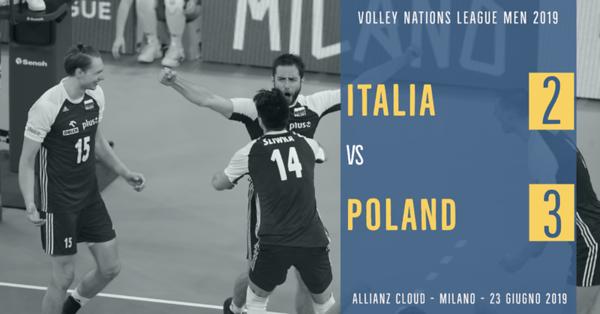 Italia 2 - Poland 3