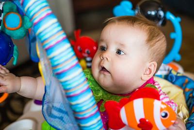 Alice Celebrates Grandpa's Birthday - June 2012