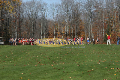 Division Two Girls - 2012 Upper Peninsula XC Finals