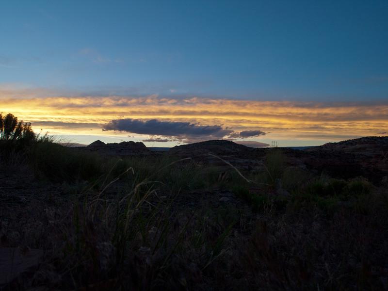 Sunset at Kiva Kottage