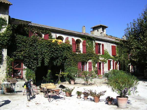 Farm stand outside of Avignon