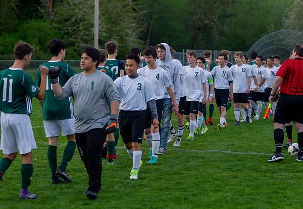 The Pregame: Vashon Island High School Boys Varsity Soccer v Charles Wright - Nisqually League Championship