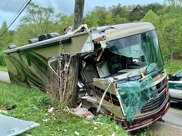 Class A RV Crash