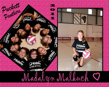 Volleyball 2nd Grade Puckett Panthers
